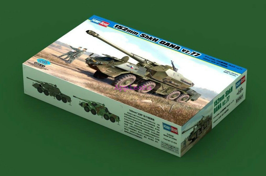 Hobbyboss model kit 1 35 85501 152mm ShKH Dana vz.77