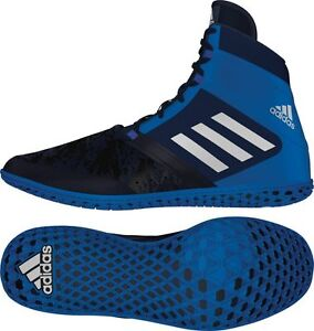 Details about BRAND NEW! Adidas Flying Impact Men's Wrestling Shoes NavySilverRoyal AQ3318