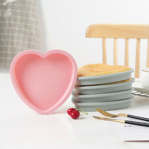 Silicone-Cake-Mold-6-8-Inch-Heart-Mould-Tool-Tray-Mousse-Baking-Pan-Round-Bread