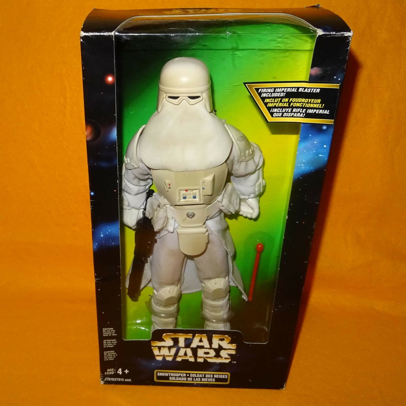1997 hasbro  kenner star wars action collection snowtrooper 12  figure boxed  marque