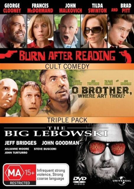 77eca722bdb Burn After Reading   O  Brother Where Art Thou   The Big Lebowski (DVD