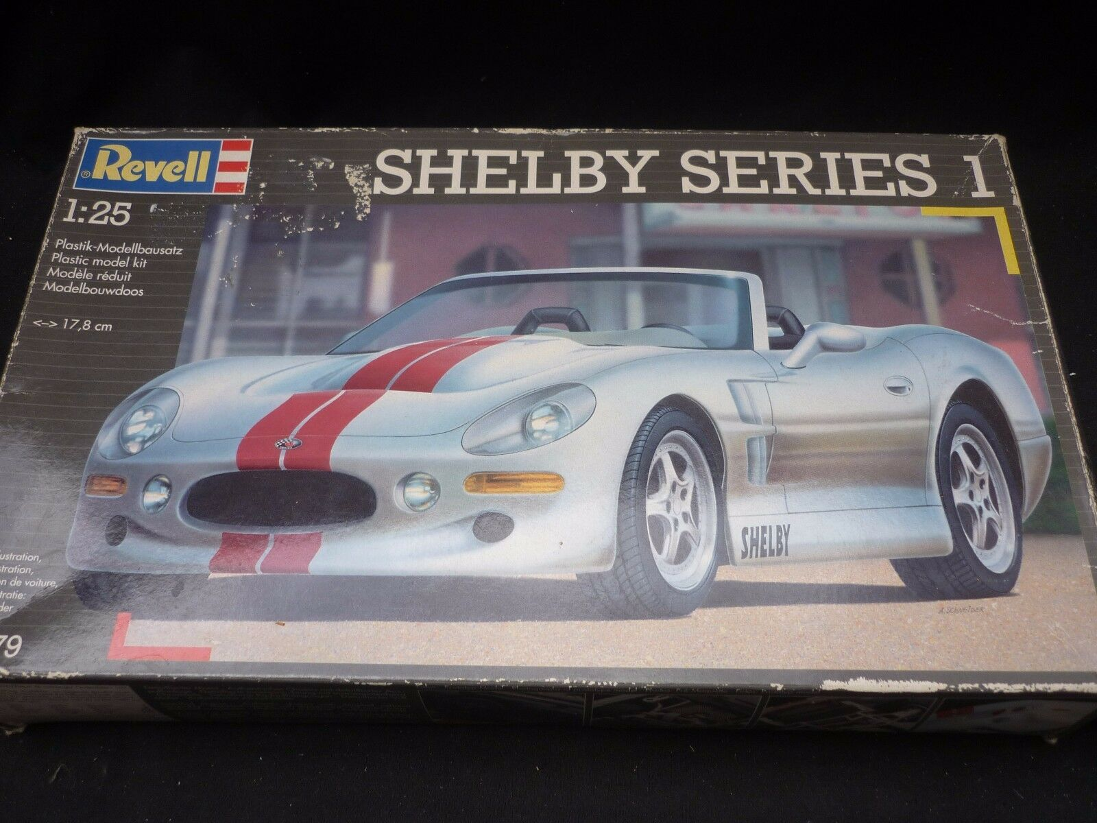 A Revell un made plastic kit of a Shelby series, All in factory sealed bags.