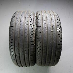 2x-Pirelli-Cinturato-p7-MOE-245-40-r19-98y-Dot-3517-6-mm-Runflat-pneus-d-039-ete