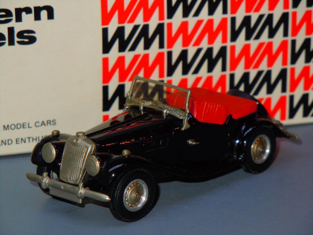 1963 MG TF Midget van Western Models