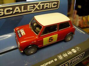 Image Is Loading Scalextric C3747 Mini Cooper S 039 RAC Rally