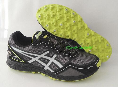 NEU Asics Gel Fuji Setsu Trail GTX Gr 40 Herren Trail Setsu Laufschuhe Running Schuhe Spikes cc6678