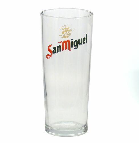 Personalised Engraved Branded 1 pint Tall San Miguel Beer Glass With Gift Box