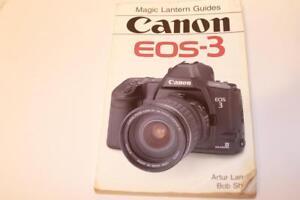 magic lantern guide instruction guide manual canon eos 3 camera rh ebay com manual eos 3000 manual eos rebel t3i