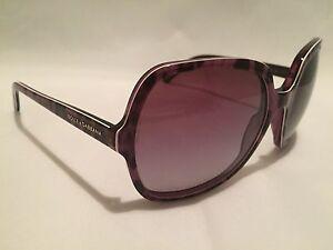 68834e0d2ad DOLCE   GABBANA D G Sunglasses 100% Authentic DG 4098 Purple-Black ...