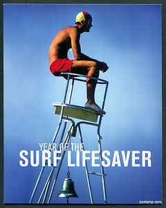 2007-Year-of-Surf-Lifesaver-Tennis-Open-Post-Office-Pack-Australia-Mint-Stamps