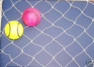 "40/' x 7/'  Barrier Backstop Baseball Softball Nylon General Sports Net  2/""   #7"