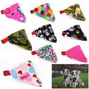 Supplies Puppy Kitten Dog Cat Neckerchief Necklace Pet Collars Triangle Scarf