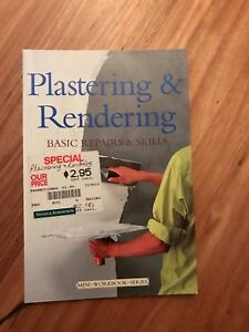 Plastering-amp-Rendering-Basic-Repairs-amp-Skills-paperback-Cheap-FREE-P-amp-H