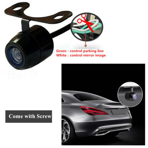360 Degree Waterproof CCD Reverse Backup Car park Side Rear Front View Camera