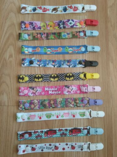 Dummy Clips Multiple Designs With Safe Plastic Clips