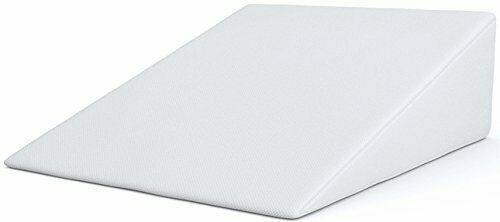 Firm Bed Wedge Pillow w  Comfy Memory Foam Cushion for Better Sleep