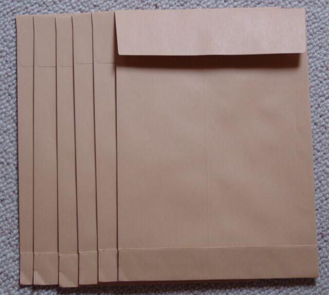 20 Faltenversandtaschen / Briefumschläge B4  250 x 353 x 40 ohne Fenster DIN A4