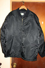 Vintage Guam Sammy's Embroidery Men's Guam USA Flag Black Jacket Size XL Rare