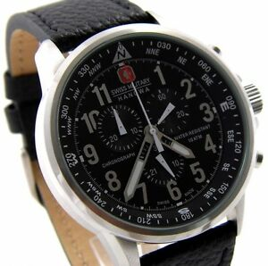 SWISS-MILITARY-HANOWA-06-4297-04-007-XXL-46mm-CHRONOGRAPH-UHR-ARROW-CLASSIC-NEU