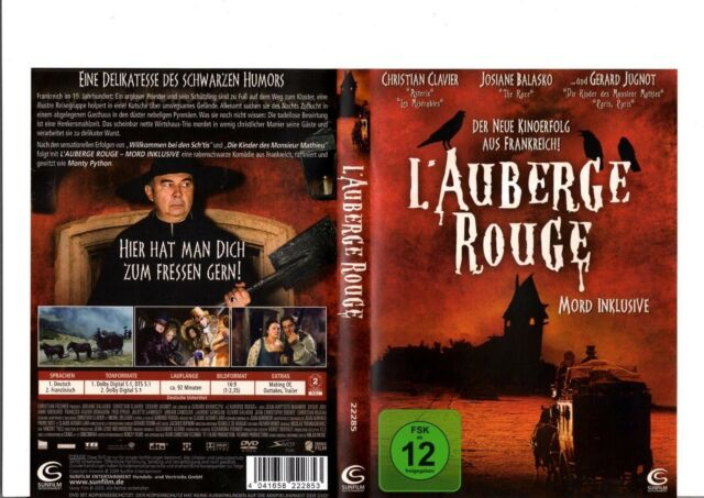 DVD - L`Auberge Rouge - Mord inklusive / #18931