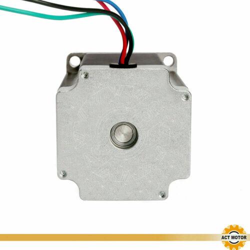 3PCS Nema23 Schrittmotor 23HS8440-23 4A 76mm 1.9Nm D-Shaft Φ8mm 270oz Q2 Sale