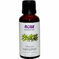 Camphor (100% Pure), 1 Oz - Now Foods Essential Oils