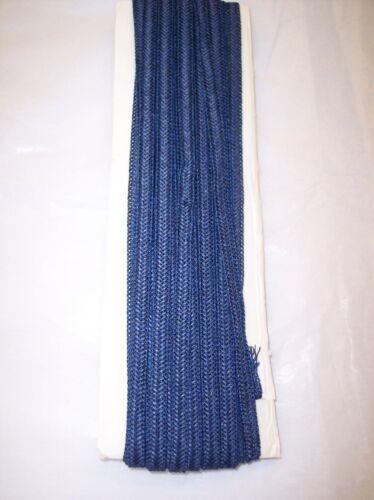 "Millinery DOLL hat Paper Straw Braid 12 Yards yds  sz 3//8/""-8MM DARK BLUE"