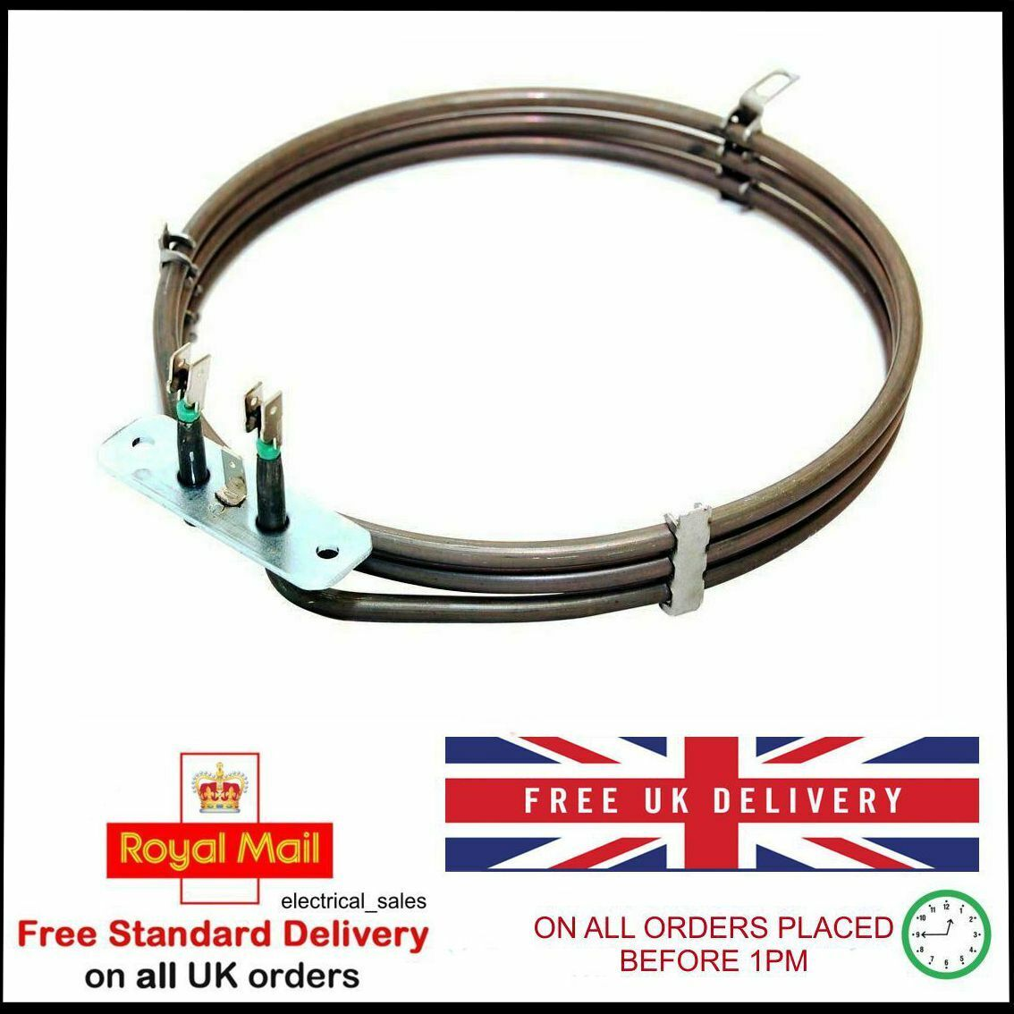 F234M F233BLUK Genuine Candy Fan Oven Cooker Element 2200W FP835CN FPP403X