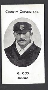 TADDY-COUNTY-CRICKETERS-G-COX-SUSSEX