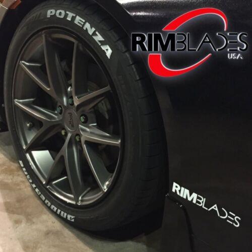 11-18 DODGE DURANGO 4dr Rim Savers//Rim Blades Wheel Protectors Pick Color