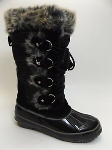 Abound Lynx BLACK Snow Winter Women's Boots Size 6.0 M NEW DISPLAY D5108