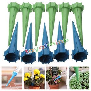 12x-8x-Sistema-De-Riego-Jardin-Riego-Spike-planta-Kit-para-vacaciones-Botella