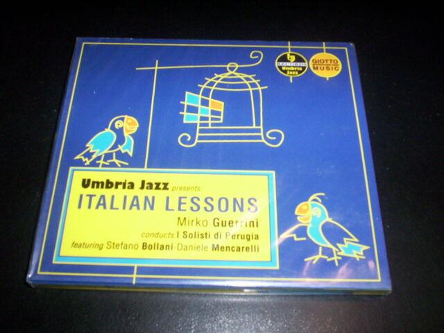 Mirko Guerrini – Italian Lessons CD digipak Umbria Jazz – LM 114, Giotto Music