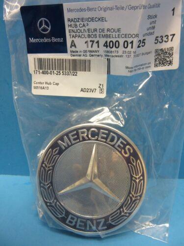 2 Wheel Hub Cap W Mercedes Benz Emblem OEM# 1714000125 Alloy Wheel Royal Blue