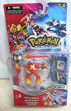 Pokemon Advanced figure - Blaziken & Taillow - sealed pair 2003 w/ card *Wear*