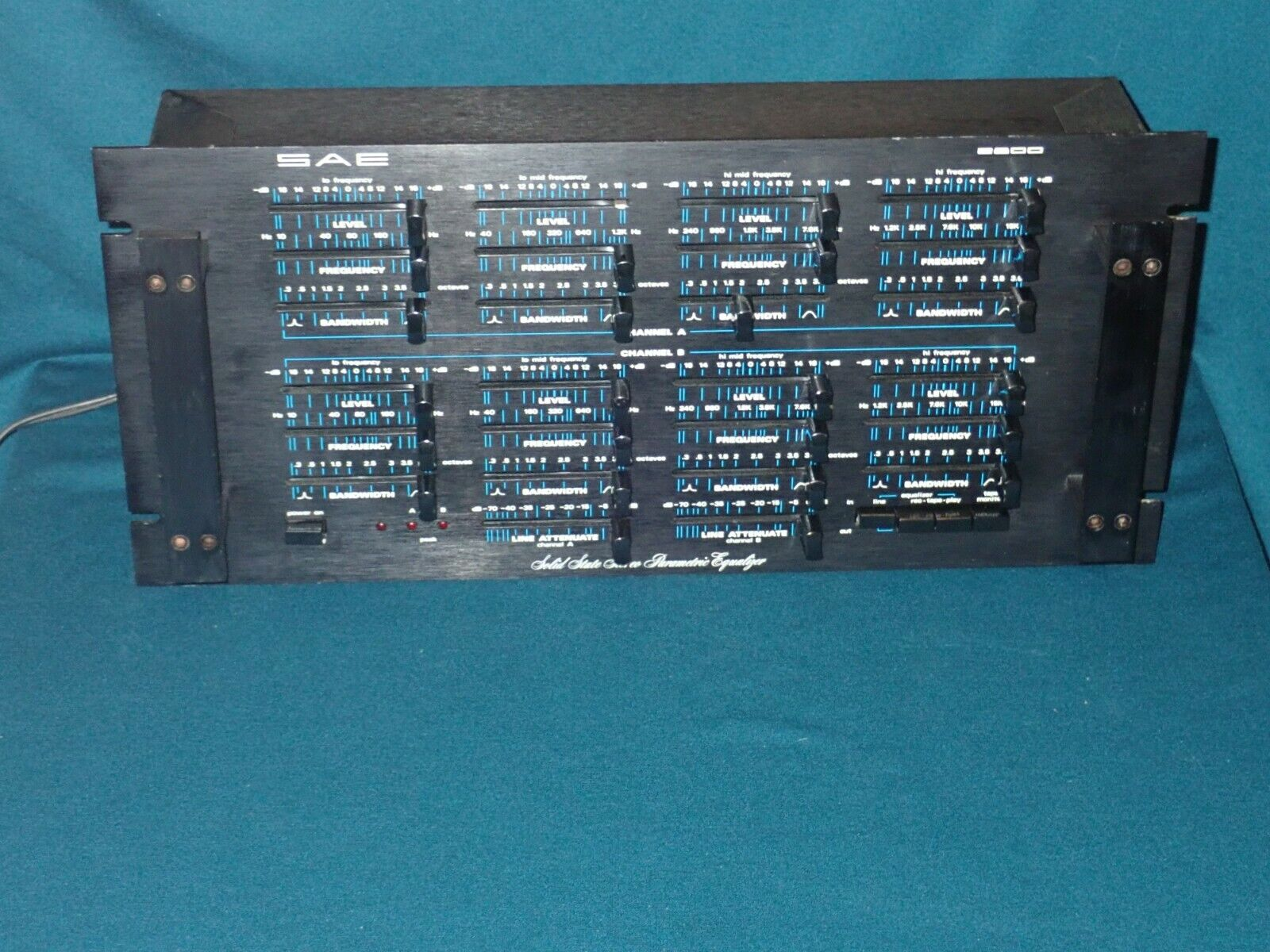 SAE 2800 Solid State Stereo Parametric Equalizer, works well, serviced. Buy it now for 320.00