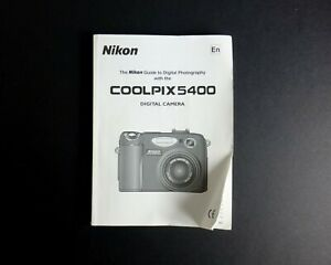 Nikon-CoolPix-5400-Digital-Camera-User-Guide-Instruction-Manual