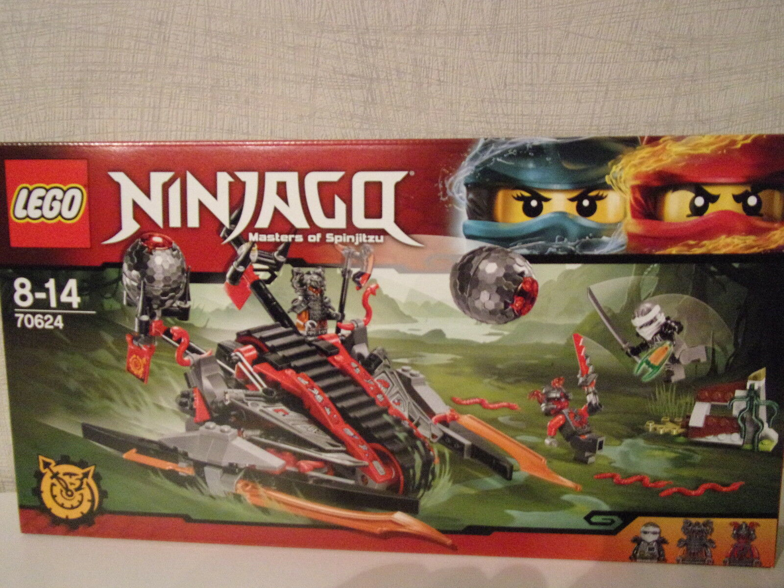 Lego Ninjago 70624 Vermillion Eindringling - NEU & & & OVP 5de97c