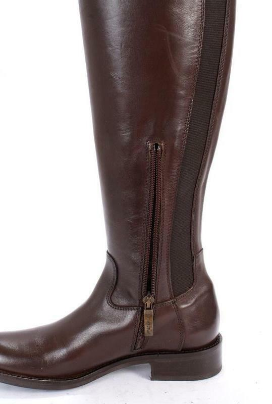 MALLY 4477 braun Leather   Elastic Insert Riding Riding Riding Stiefel 41   US 11 19a706