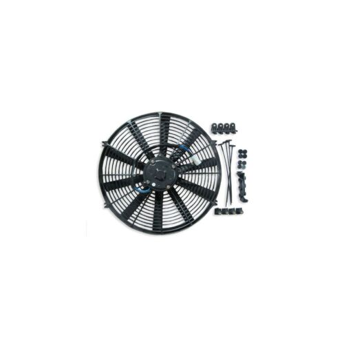 """ACP 16/"""" Universal Push Radiator Cooling Fan Straight Blades Replacement Unit"""