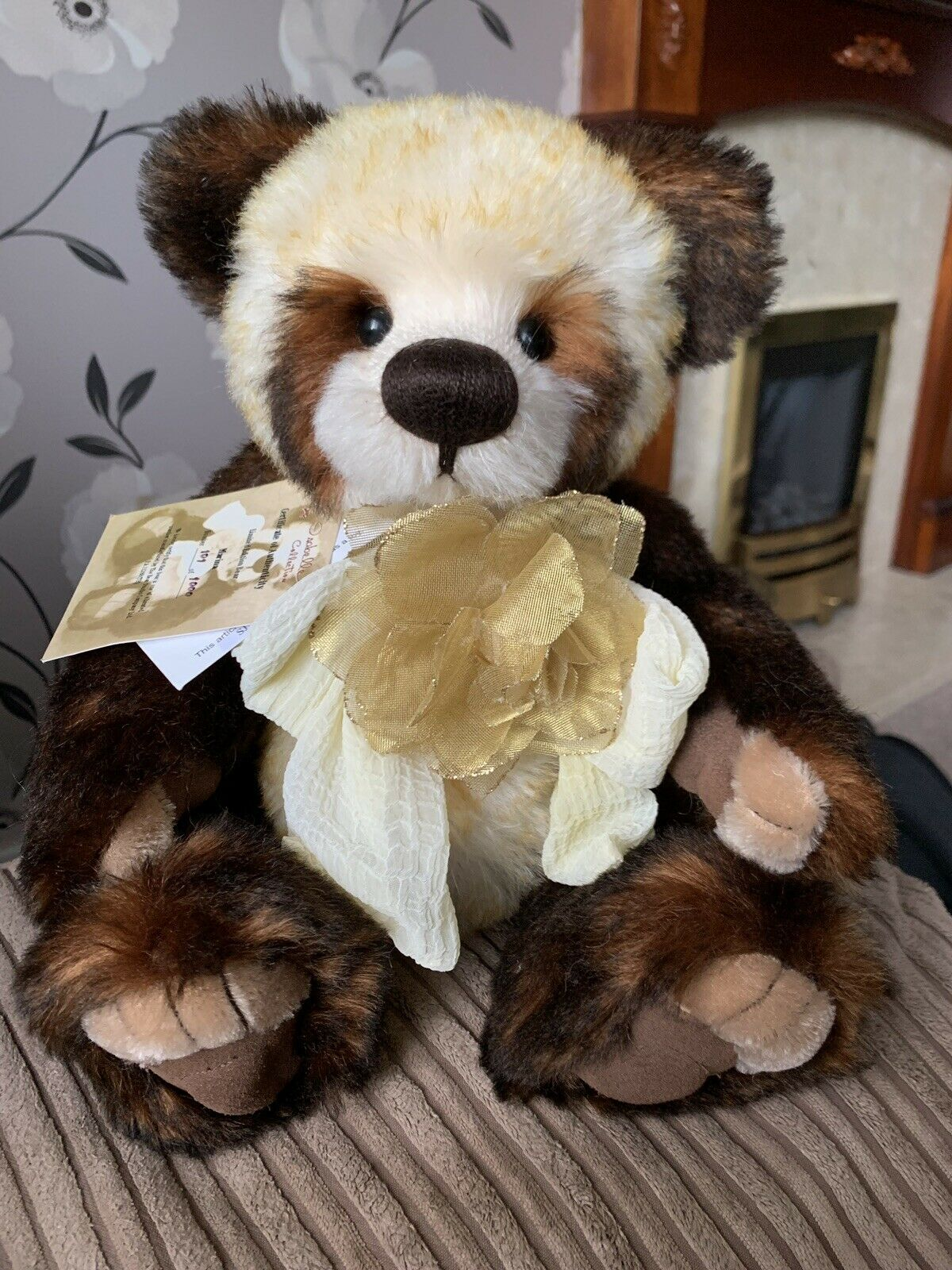 Charlie Bears Marina With Tags And Tasche