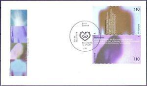 Rfa 2001: Santé! Fdc Bloc Marques-ensemble Pression Des Nº 2201+2203! 1 A! 1902-sammendruck Der Nr. 2201+2203! 1a! 1902fr-fr Afficher Le Titre D'origine Divers ModèLes RéCents