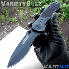 BLACK SPRING TACTICAL RESCUE Assisted Open Folding Blade Pocket Knife TAC FORCE