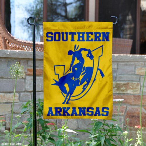 SAU Muleriders Garden Flag and Yard Banner