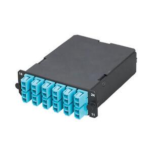 Liberal Panduit Fcx-24-10y 24-fiber Cassette Om3 50um 12 Duplex Lc To Mtp Cheap Sales Enterprise Networking, Servers Computer Cables & Connectors
