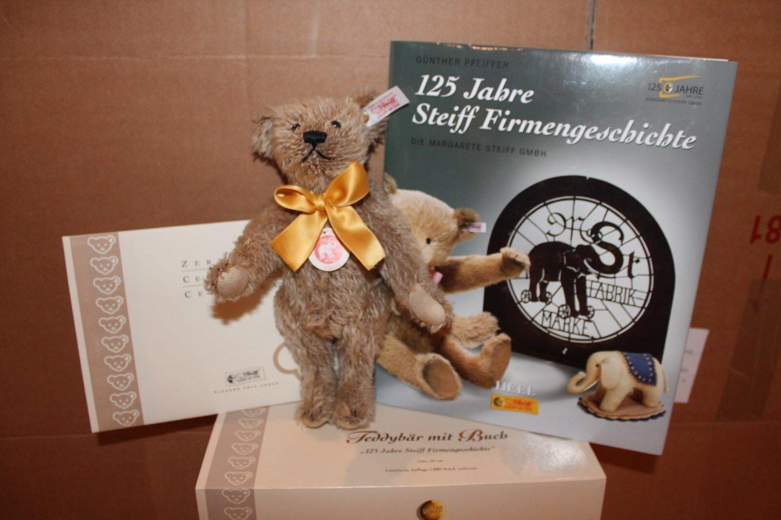 Steiff 038853  Teddybär mit Buch