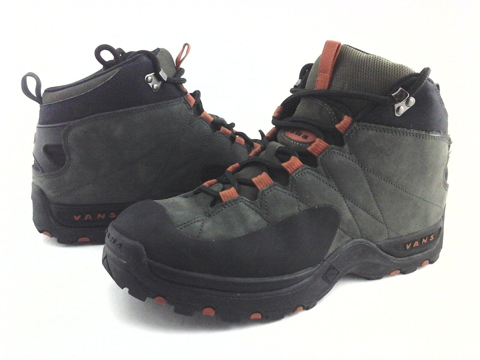 VANS Senderismo botas Invierno Nieve emigre verde Naranja Negro para Hombre US 11 Rara