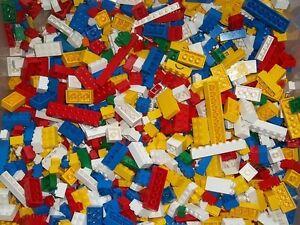 LEGO-100-Bunte-Basis-Steine-gemischte-Basic-Basics-aus-Kiloware-Kilo-Konvolut