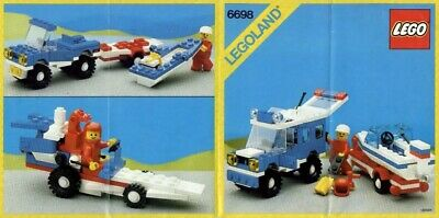 Lego 6698 Classic Town RV WITH SPEEDBOAT Complete w/Instructions | eBay