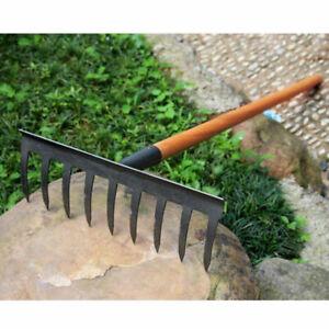 1pc Steel Rakes Leaf Rake Practical Rakes Accessories for Gardening DIY Home